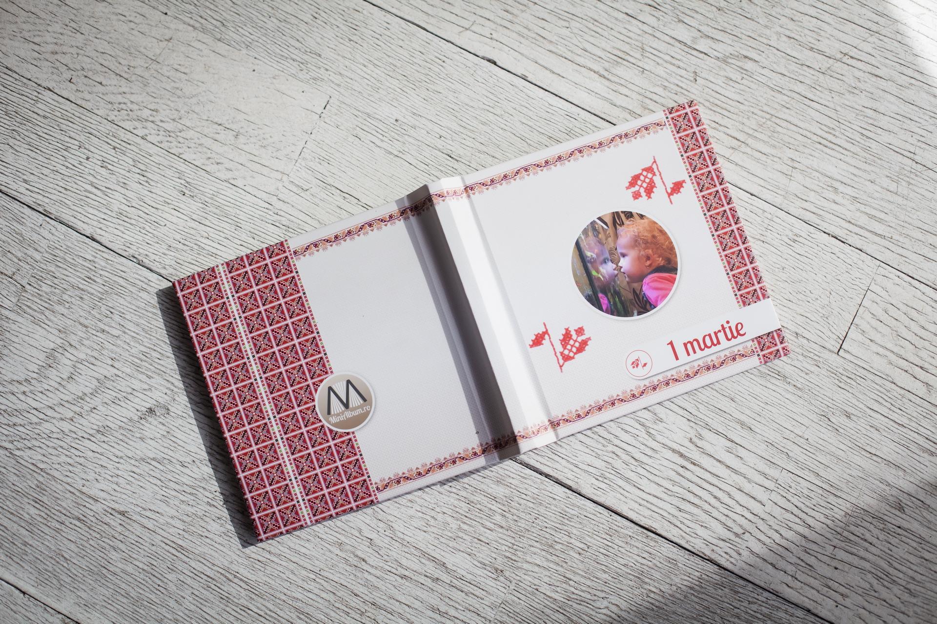 fotocarte minialbum martisor