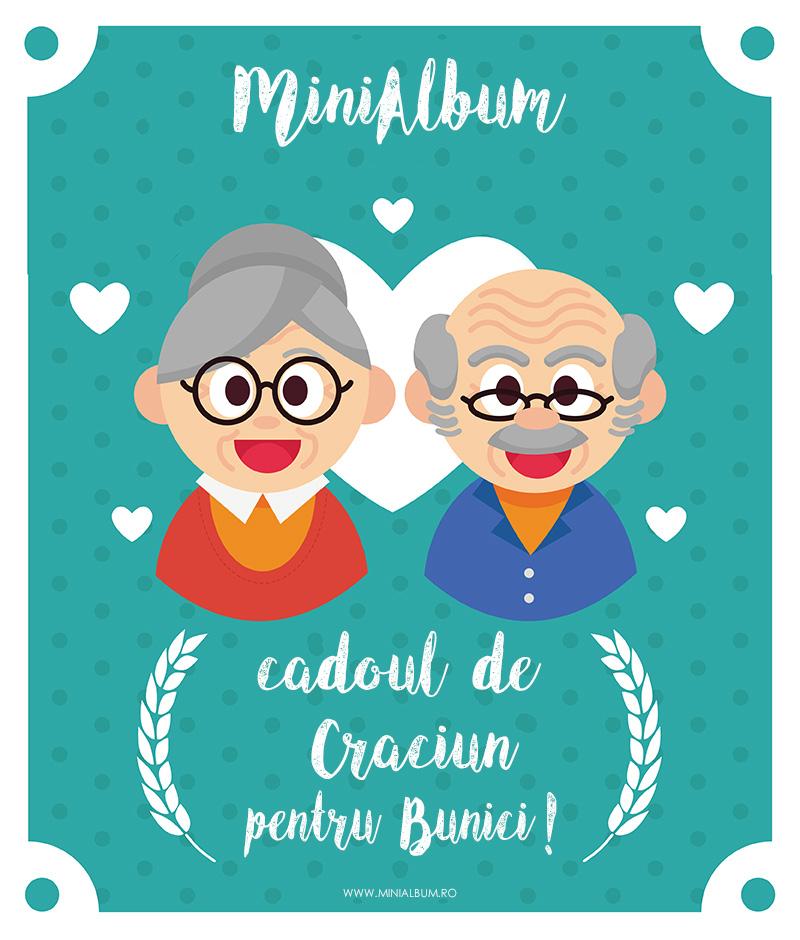cadou de craciun pentru Bunici, un album fotocarte foto de la minialbum.ro
