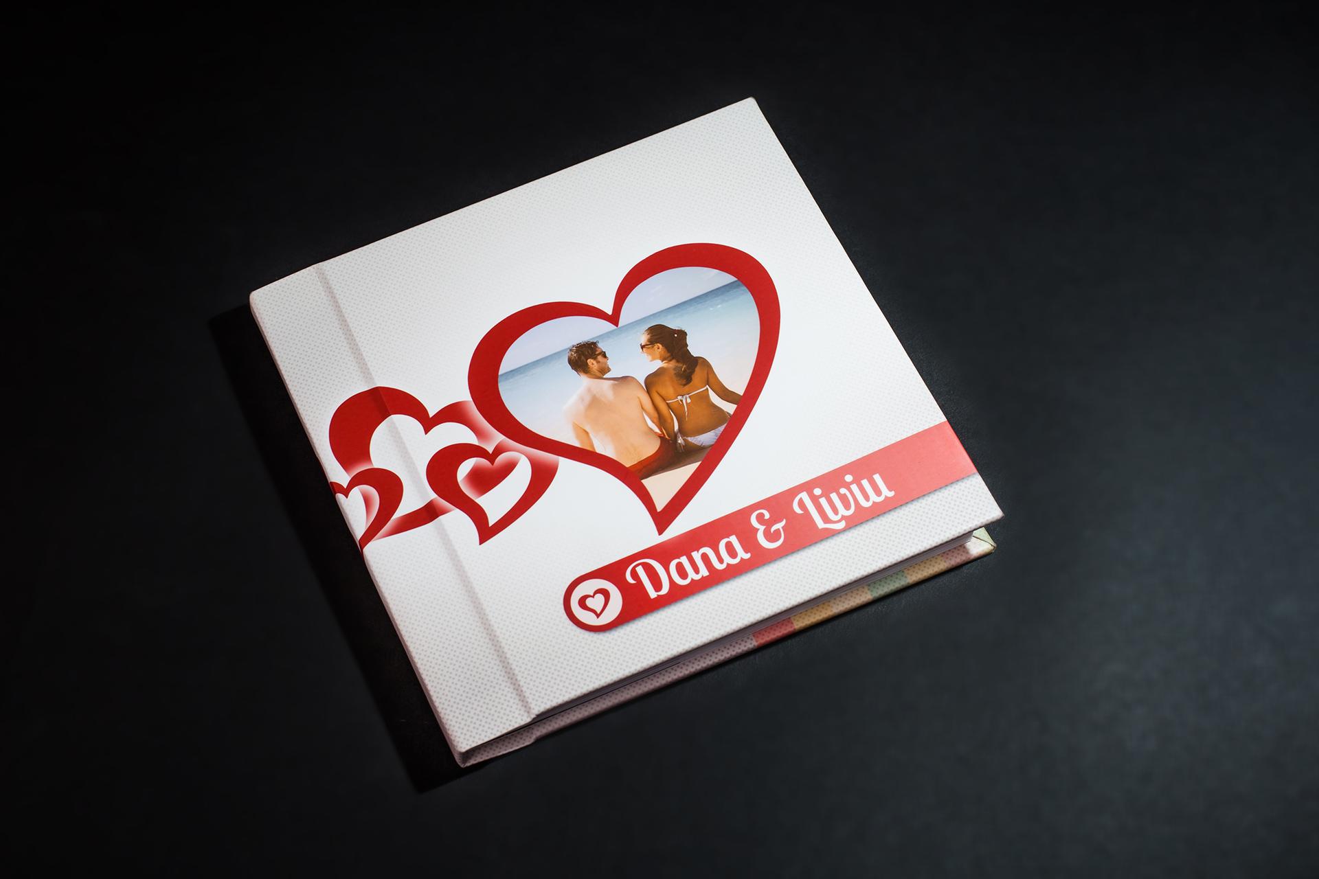 Albume fotocarte Minialbum Editia de Dragobete