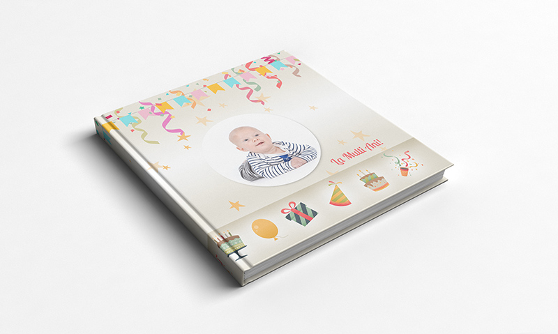 album foto carte personalizat online tema aniversara