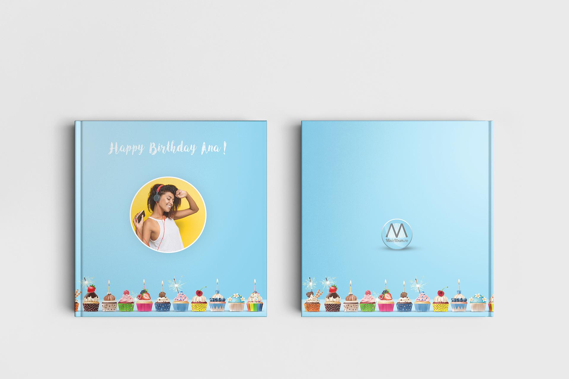 album foto personalizat cadou la multi ani