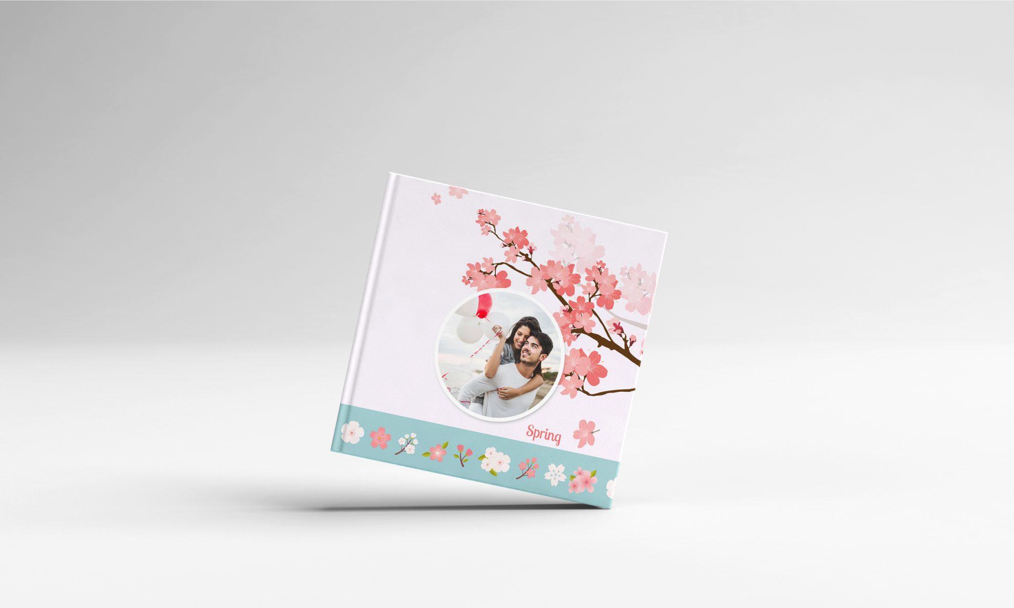 album foto personalizat de primavara