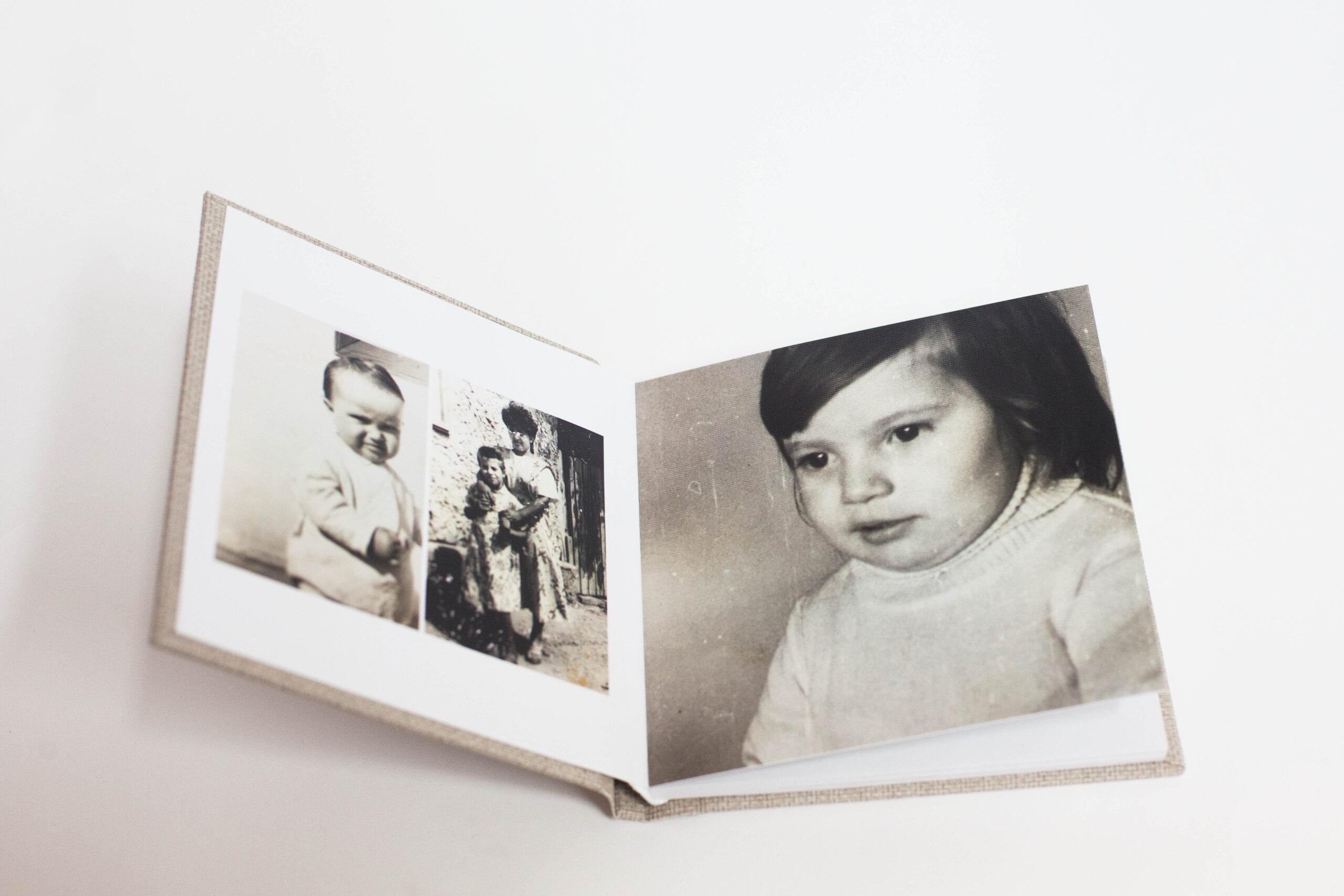 album fotocarte vintage