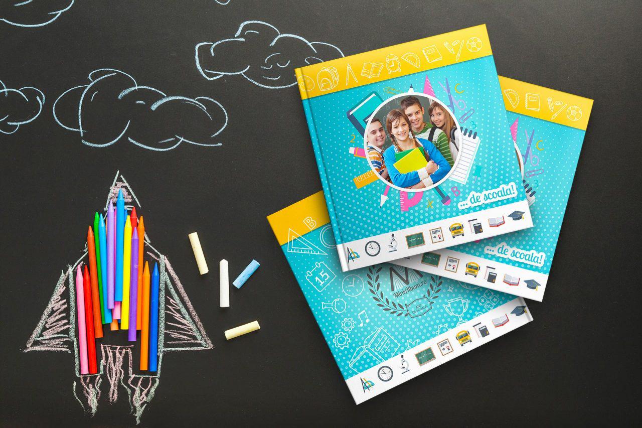 minialbum fotocarte de scoala